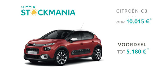 C3 citroën garage dealer crivaco gent lovendegem stockmania promotie