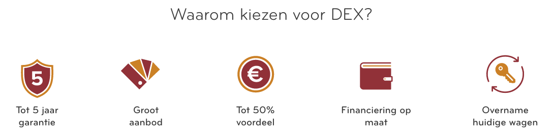 voordelen dex waarom dex auto kopen bij dex