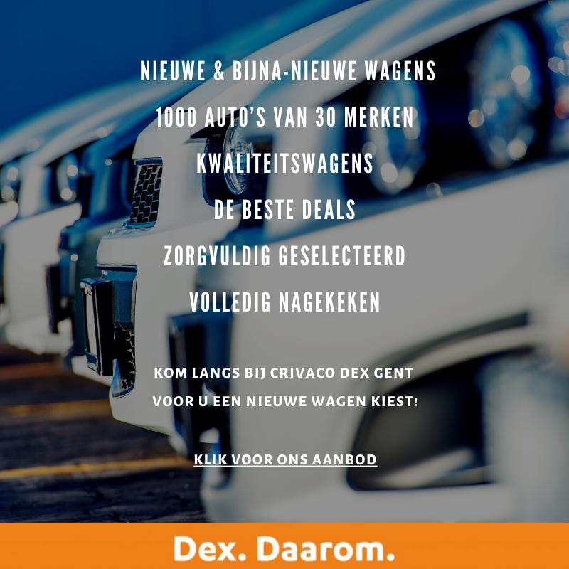een auto kopen bij Dex Crivaco Gent